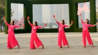 美久舞蹈学跳大赛~多来米广场舞《和谐中国》