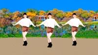 广场舞《沉睡的泪》流行热曲轻快32步,背面示范