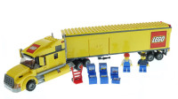 乐高积木:城市系列3221厢式货运卡车