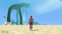 迪迦奥特曼在沙滩发现超级大的怪兽怎么办?