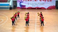 12人队形花球舞《火火的中国火火的时代》精神十足为祖国点赞喝彩