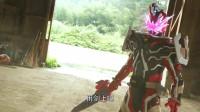 假面骑士圣刃第10集:音乐骑士再次变身打怪