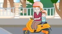 猪屁登:炎热的夏天,郝奶奶为了凉快挡住了右转的路