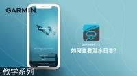 【教学】Garmin Dive app:如何查看潜水日志