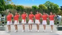 玉霞广场舞《此情一直在心间》现代舞附教学