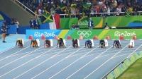 里约奥运会男子100米决赛现场版