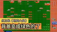 红白机游戏 坦克大战:背景变成绿色的了,很环保