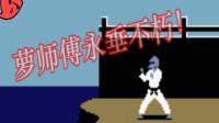 萝卜渣玩FC格斗游戏-空手道