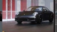 C4D工业产品汽车场景制作渲染第2集