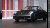 C4D工业产品汽车场景制作渲染第3集