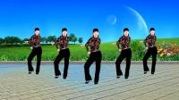 益馨广场舞《陪你到老的人》流行热曲32步,简单又时尚,附分解