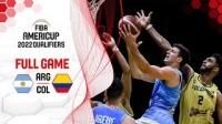 2020.11.28 阿根廷 v 哥伦比亚 - 2022男篮美洲杯资格赛