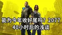 《赛博朋克2077》能为今年收好尾吗?游玩40小时后的浅聊