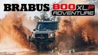 2021 巴博斯 Brabus 800 Adventure XLP 宣传片 Going Offroad