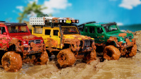 全地形越野车泥水中熄火,汽车救援队出动救援