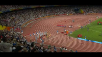 重温奥运会百米决赛,博尔特回头望月夺冠,韩国解说都疯狂了!