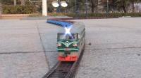 机车道岔换轨挂50节车厢,挑战S型轨道模拟