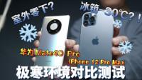 丢进冰箱还能用!?Mate40 Pro/iPhone 12 Pro Max极寒环境对比!
