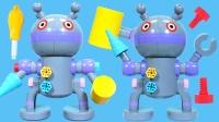 面包超人的机器人拼装玩具