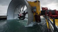 建造在海底的发电站,它是如何发电的呢?看完涨知识了!