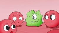 搞笑动画:原来血小板和红细胞也爱凑热闹
