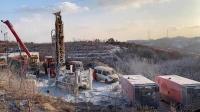 山东金矿爆炸事故救援进展:井筒清障至井下350米