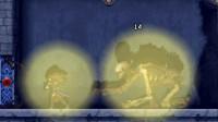 【逐梦】NDS《恶魔城 被夺走的刻印》困难实况2 监狱岛 BOSS巨大骷髅