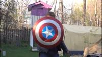 现实版美国队长真的来了,最强的盾没错了!