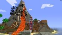 迪迦奥特曼在火山遇见会隐身的怪兽怎么办?