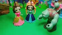 趣味玩具:火柴人进化论小白雪小贝儿勇敢救妈妈