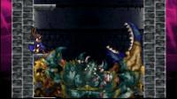【逐梦】NDS《恶魔城 被夺走的刻印》困难实况3 大灯台 BOSS巨大螃蟹