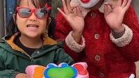童年亲子:妈妈怎么把姐姐变成小丑了