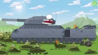 坦克世界:灰坦克被小坦克包围