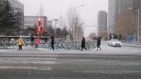 下雪啦!北京迎来2021年第一场雪