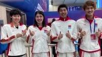 泳联确认中国男女混接世界纪录