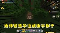 迷你世界:生存到极致就像开挂,半仙初探雨林