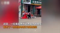 贵州地摊老板打球视频爆火,网友:身上穿的是生活,手上打的是梦想