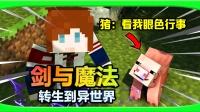 剑与魔法狗窝梦!第1期-逍遥小枫-我的世界Minecraft