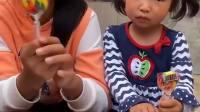 儿时童年:小宝贝的魔法盘子,姐姐不要随便用