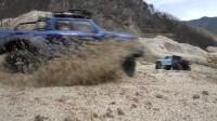看两辆越野车如何翻越危机四伏的死亡山谷