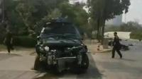 南宁一辆suv撞上多名行人 已致4人遇难6人送医