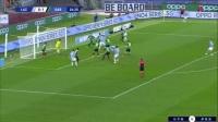 意甲-米林科维奇建功因莫比莱制胜 拉齐奥2-1逆转萨索洛