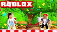 阿火解说roblox罗布乐思:巨人国里搞聚餐