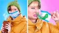 女孩在冬天会面临什么问题?五个趣味瞬间,看完笑的肚子痛!
