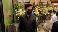 88岁TVB老戏骨李香琴出殡 黄百鸣全黑装扮很低调