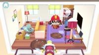 熊猫消防队:房间里出现了坍塌!