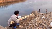 国外小哥自制机器尝试水漂,结果到底能否成功?