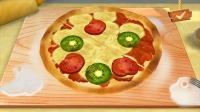 熊猫餐厅:在披萨上面做点装饰!