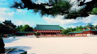 平安神宫 日本最大的拜殿太极殿 京都观光仿唐朝建筑