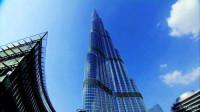 登上迪拜哈利法塔 世界第一高楼一览众楼小 阿联酋之旅